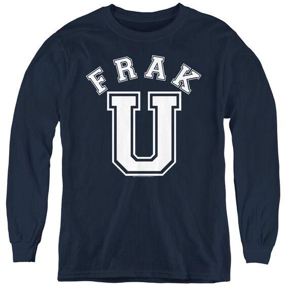 Bsg Frak U - Youth Long Sleeve Tee - Navy