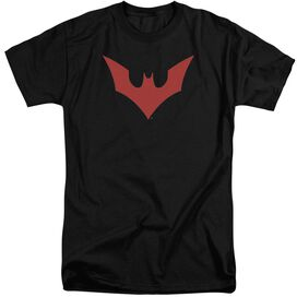 Batman Beyond Beyond Bat Logo Short Sleeve Adult Tall T-Shirt
