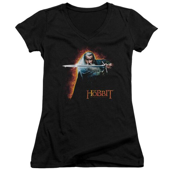 The Hobbit Secret Fire Junior V Neck T-Shirt