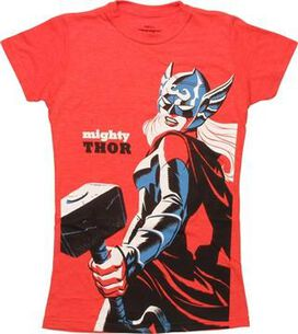 Thor 4 Michael Cho Variant Cover Juniors T-Shirt
