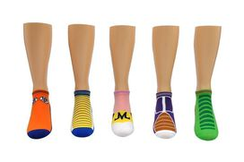 Dragon Ball Z Low-Cut Socks [5-pack]