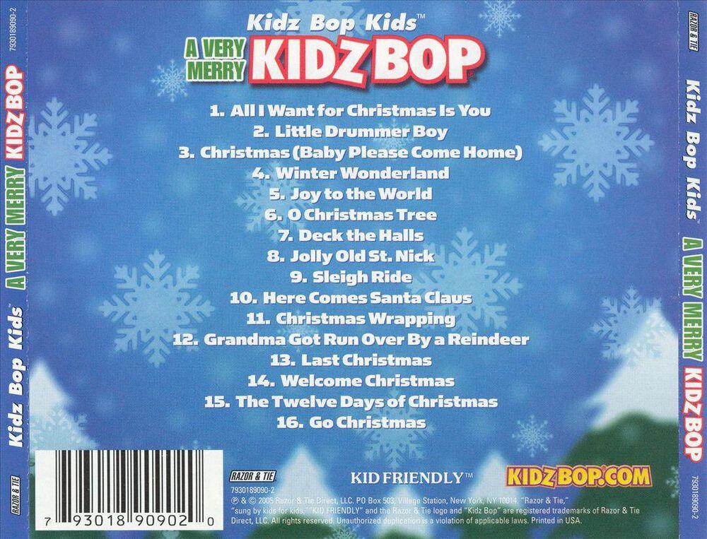 Very Merry Kidz Bop by Kidz Bop Kids - Used on CD | FYE
