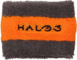 Halo 3 Logo with Grunt Close Up Wristband