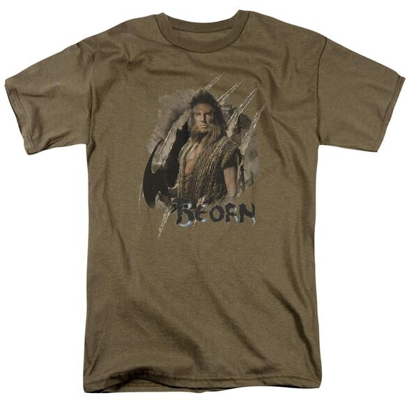 Hobbit Beorn Short Sleeve Adult Safari Green T-Shirt
