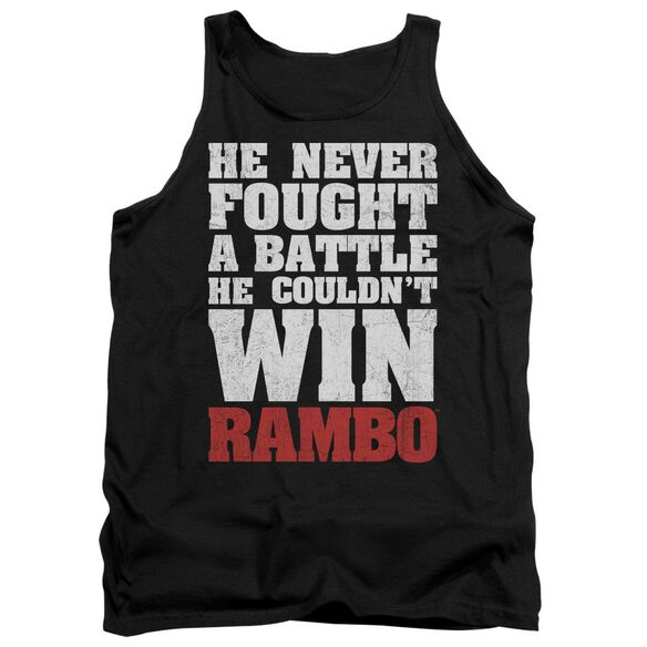 Rambo:First Blood He Never Adult Tank
