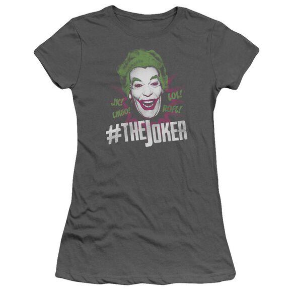 Batman Classic Tv #Joker Short Sleeve Junior Sheer T-Shirt