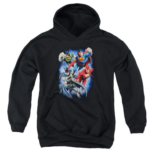 Jla Storm Makers Youth Pull Over Hoodie