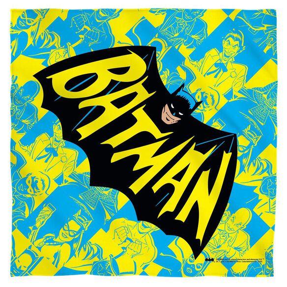 Batman Classic Tv Classic Tv Show Logo Bandana