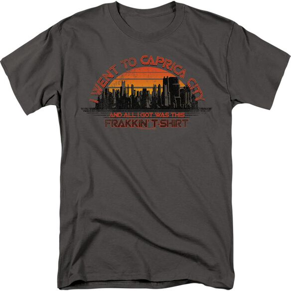 BSG CAPRICA CITY-S/S ADULT 18/1 - CHARCOAL T-Shirt