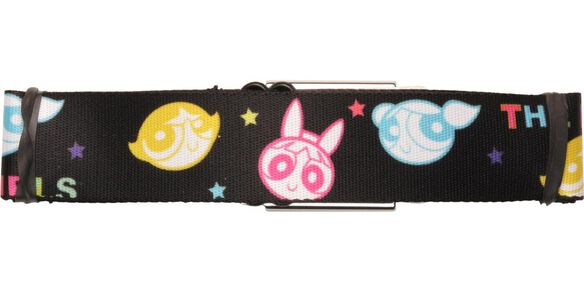Powerpuff Girls Color Heads Seatbelt Belt