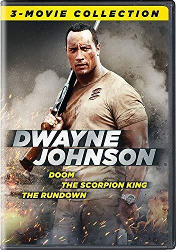 Dwayne Johnson 3-Movie Collection (Doom/The Scorpion King/The Rundown)