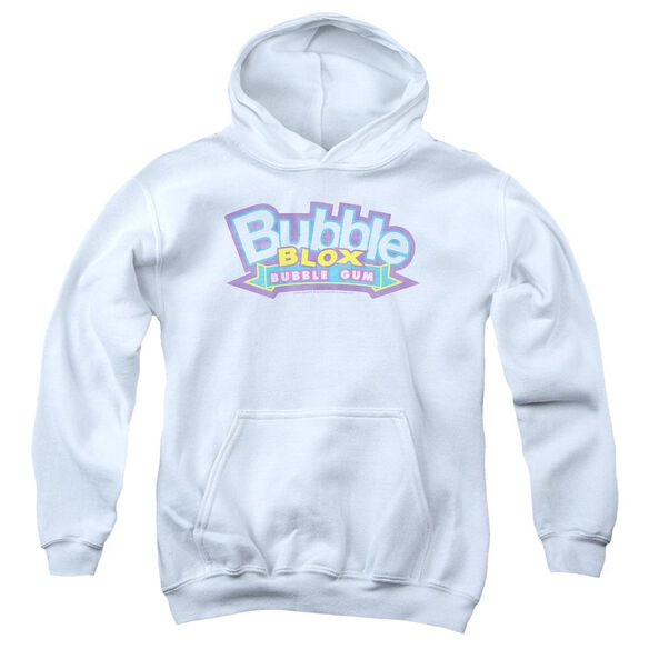 Dubble Bubble Bubble Blox-youth Pull-over Hoodie - White