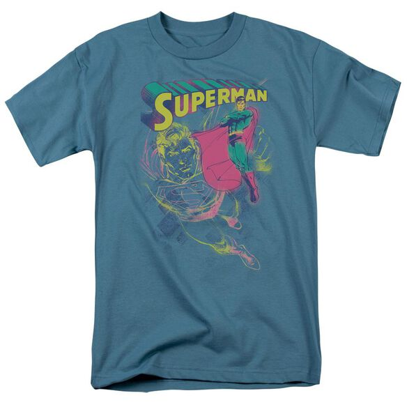 SUPERMAN SUPER SPRAY - S/S ADULT 18/1 - SLATE T-Shirt