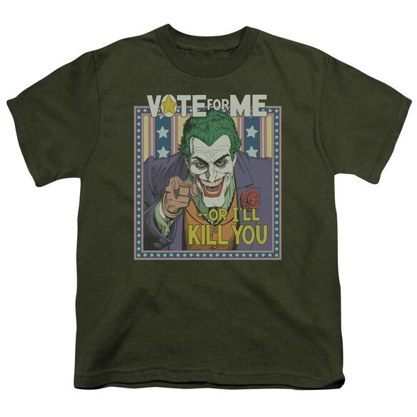 Batman Dark Detective #1 Short Sleeve Youth Military T-Shirt