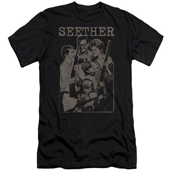 Seether Happy Family Hbo Short Sleeve Adult T-Shirt