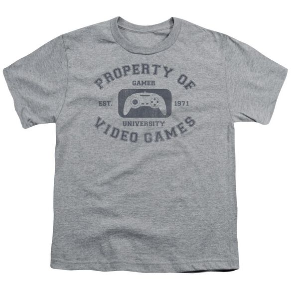 Gamer University Short Sleeve Youth Athletic T-Shirt