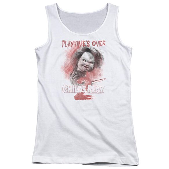 Childs Play 2 Playtimes Over Juniors Tank Top