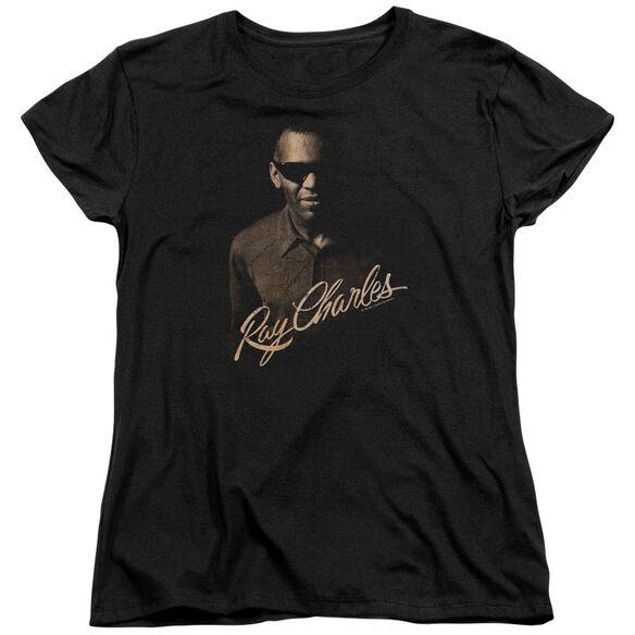 Ray Charles The Deep Short Sleeve Womens Tee T-Shirt