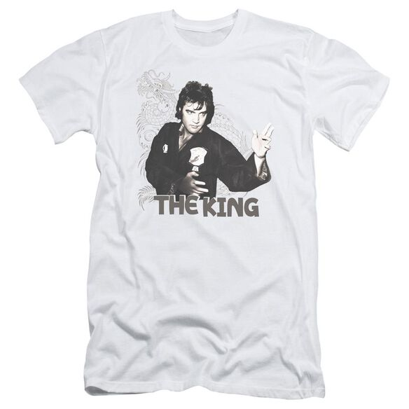 Elvis Fighting King Short Sleeve Adult T-Shirt