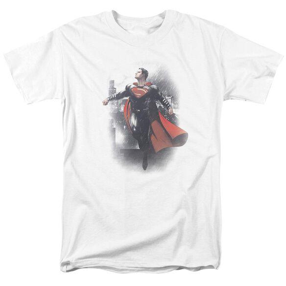 Batman Vs Superman A New Dawn Short Sleeve Adult White T-Shirt