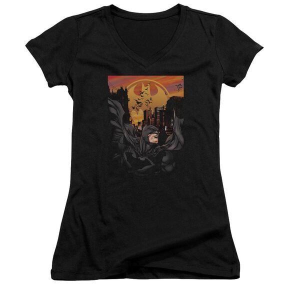 Batman Always On Call Junior V Neck T-Shirt