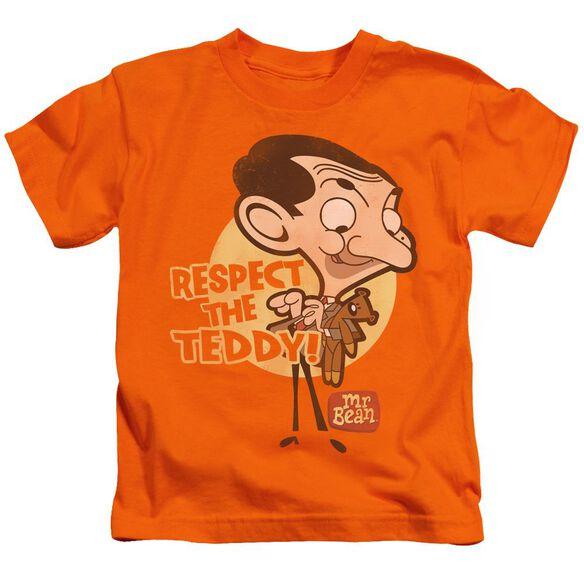 Mr Bean Respect The Teddy Short Sleeve Juvenile T-Shirt