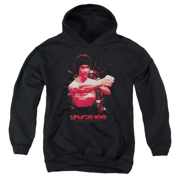 Bruce Lee The Shattering Fist Youth Pull Over Hoodie