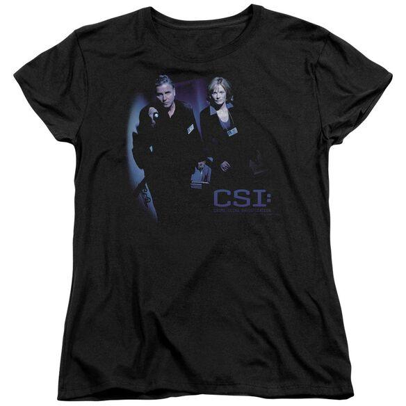 Csi At The Scene Short Sleeve Women's Tee T-Shirt