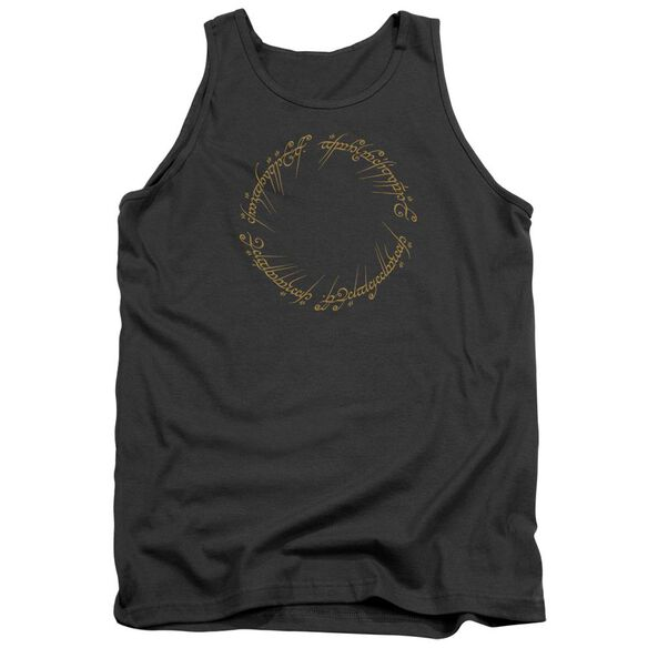 Lord Of The Rings One Ring Adult Tank