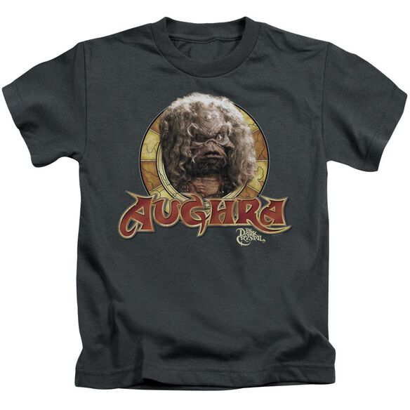 Dark Crystal Aughra Circle Short Sleeve Juvenile Charcoal T-Shirt