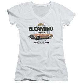 Chevrolet Also A Truck Junior V Neck T-Shirt