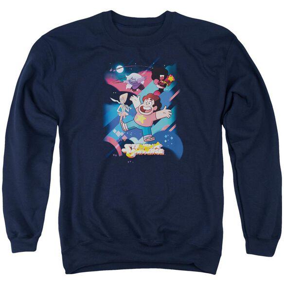 Steven Universe Group Shot Adult Crewneck Sweatshirt