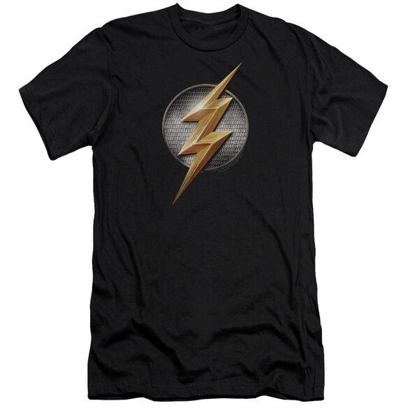 Justice League Movie Flash Logo Hbo Short Sleeve Adult T-Shirt
