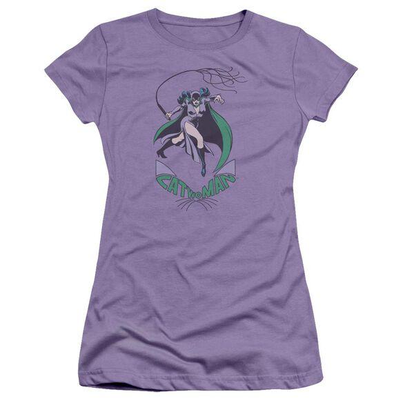Dc Kitten With A Whip Short Sleeve Junior Sheer T-Shirt