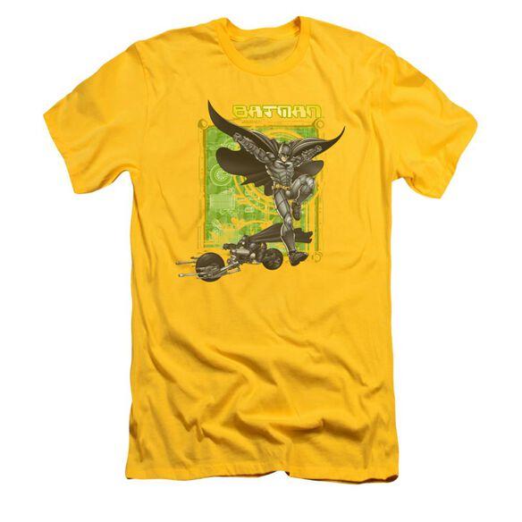 Dark Knight Hi Tech Gear Short Sleeve Adult T-Shirt