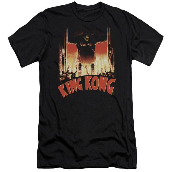 King Kong At The Gates Short Sleeve Adult T-Shirt