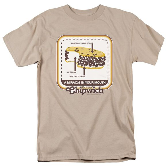 Chipwich Mouth Miracle Short Sleeve Adult T-Shirt