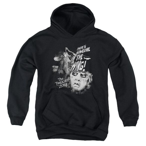 Twilight Zone Someone On The Wing Youth Pull Over Hoodie