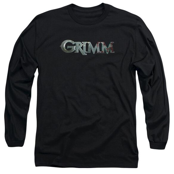 Grimm Bloody Logo Long Sleeve Adult T-Shirt