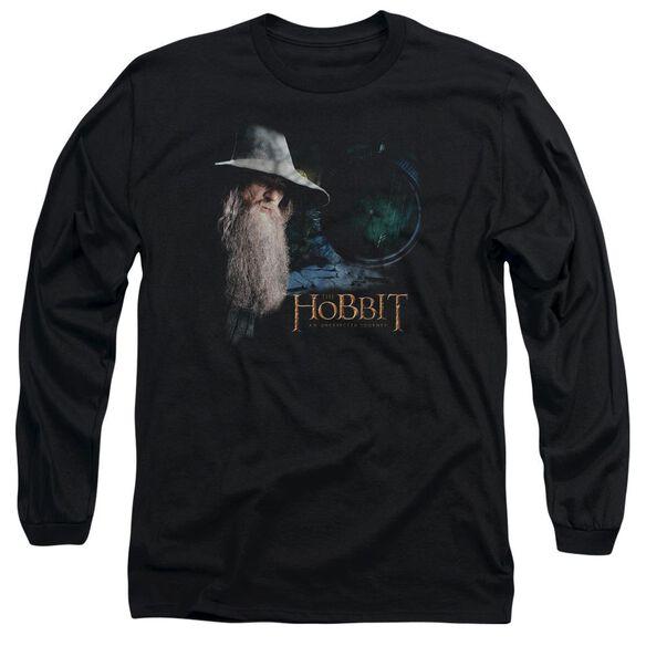 The Hobbit The Door Long Sleeve Adult T-Shirt
