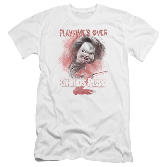 Childs Play 2 Playtimes Over Premuim Canvas Adult Slim Fit