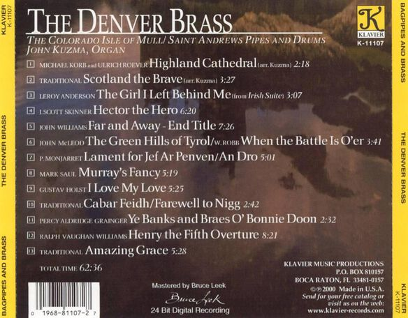 Bagpipes & Brass