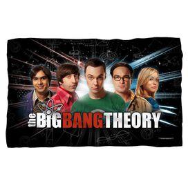 Big Bang Theory Group Spark Woven Throw