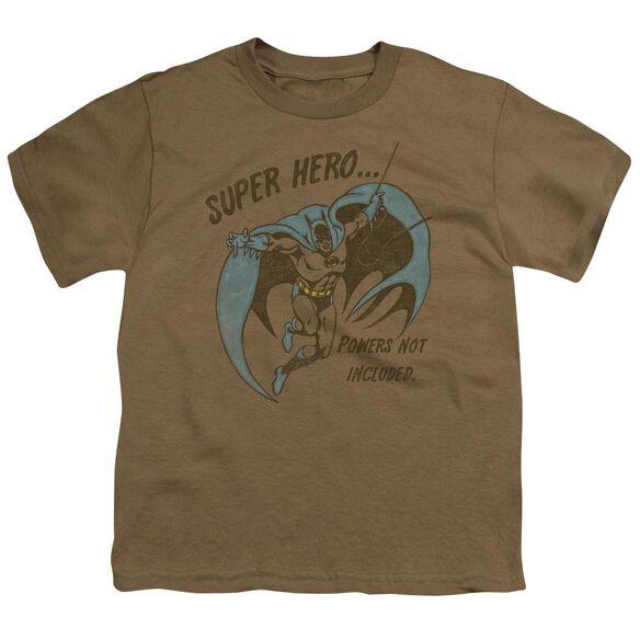 Dc No Powers Short Sleeve Youth Safari T-Shirt