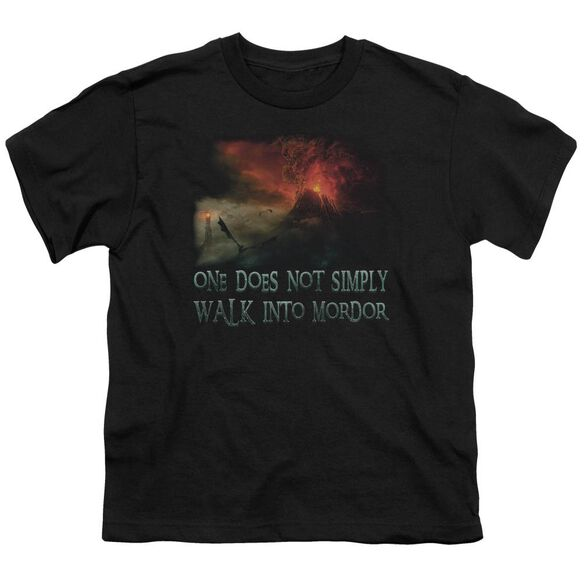 Lor Walk In Mordor Short Sleeve Youth T-Shirt