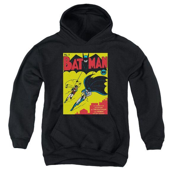 Batman Batman First Youth Pull Over Hoodie