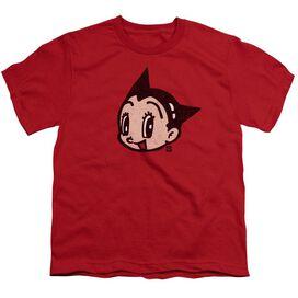 Astro Boy Face Short Sleeve Youth T-Shirt