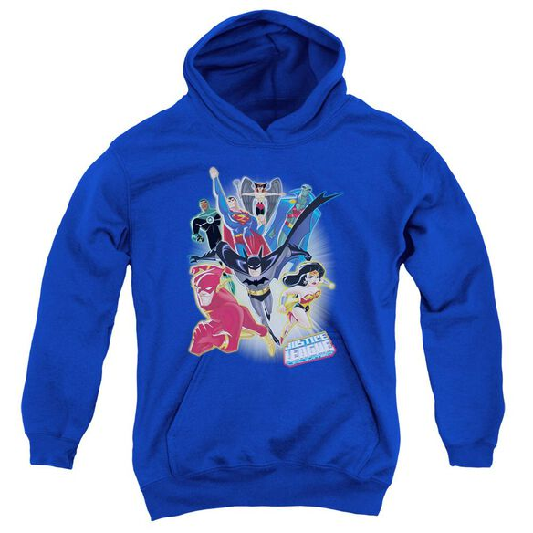 Jla Unlimited Youth Pull Over Hoodie