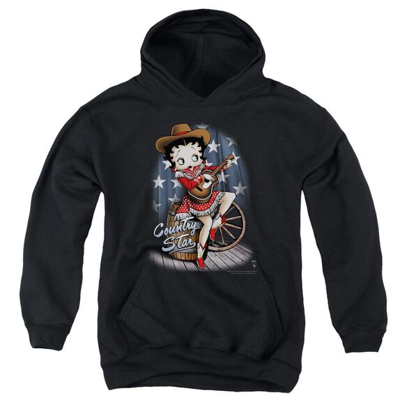 Betty Boop Country Star Youth Pull Over Hoodie