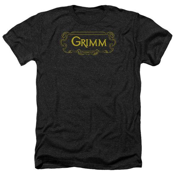 Grimm Plaque Logo Adult Heather